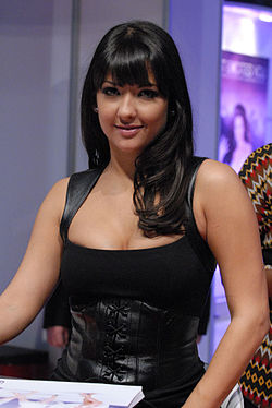 Carmen Hart at AVN Adult Entertainment Expo 2008 2.jpg
