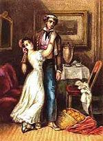 Disegno di Mérimée per la Carmen