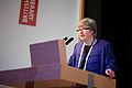 Caroline Brazier, Director of Scholarship and Collections at the British Library at the GLAM WIKI UK 2013 Conference - Flickr - Sebastiaan ter Burg.jpg