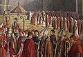 Carpaccio, storie di s.orsola 06, Incontro dei pellegrini con papa Ciriaco, 1491-93, 02.JPG