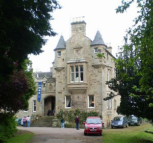 Carriden House - South front of Carriden House