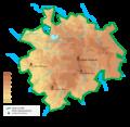 Carte physique du PNR Millevaches.png