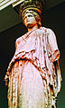 Caryatid from the Erechtheum. Pentelic Marble. About 415 BC - British Museum 3.jpg