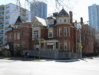 Casey House (Toronto) - The original Casey House on Huntley St.