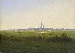 Caspar David Friedrich: Meadows near Greifswald