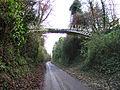 Cast Iron Footbridge over Micheldever Road, Andover. - geograph.org.uk - 90925.jpg