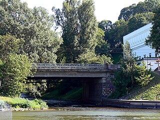 Устье реки Вильня