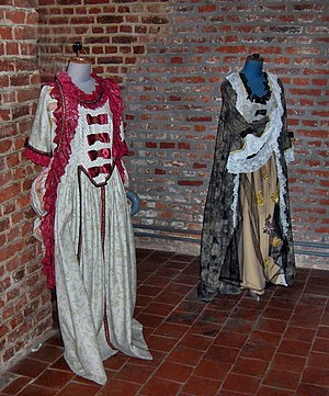Historical costumes of Le Cateau Cambrésis, France