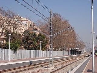Sant Adrià de Besòs railway station