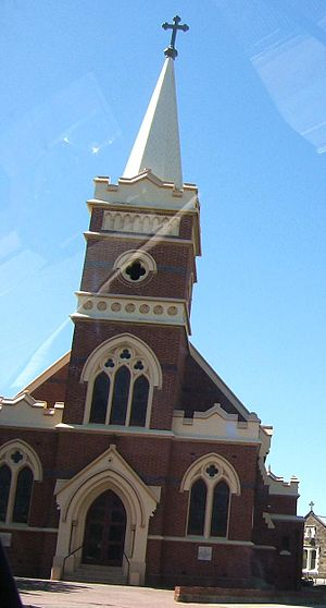 Thebarton, South Australia - Catholic Church on South Road