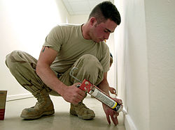 meaning of caulking