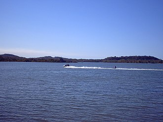 Causeway Lake, Queensland - Watersports on the lake, 2009