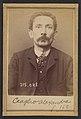 Ceaglio. Alexandre, Joseph. 42 ans, né à Turin (Italie). Employé de commerce. Anarchiste. 3-3-94. MET DP290258.jpg