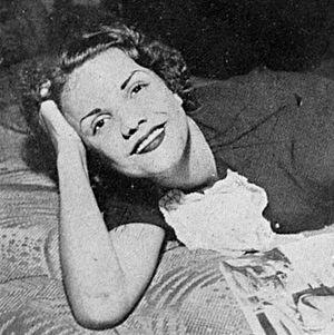 Cecilia Miranda de Carvalho - Cecilia Miranda in 1935.
