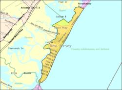 Sea Isle City Map Sea Isle City, New Jersey   Wikipedia