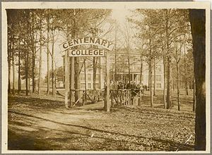 Centenary College of Louisiana - Centenary College in Shreveport, circa 1915