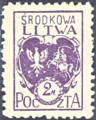 Central Lithuania 1920 MiNr 003A B002.png