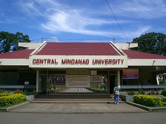 Central Mindanao University - CMU Entrance Gate