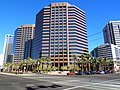 Central Phoenix, AZ, SW Corner Thomas Road and Central Avenue, from left, Phoenix Professional Tower, Phoenix Corporate Center, Phoenix Plaza, Hilton Suites, 2011 - panoramio.jpg