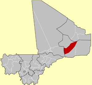 Cercle of Gap in Mali