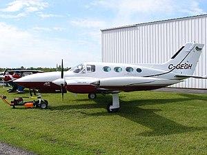 1980 Camarate air crash - Cessna 421, similar to the aircraft involved