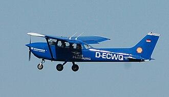 Air Hamburg - A former Air Hamburg Cessna 172