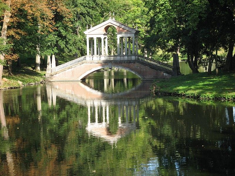 pont du chateau de groussay