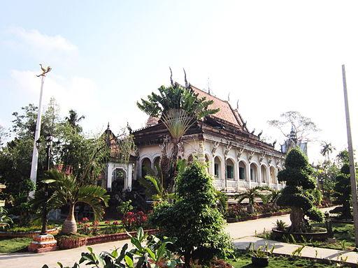 Chính điện chùa Ông Mẹt