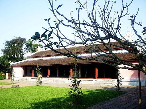 Chính điện chùa Thiên Mụ