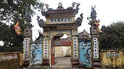 Phap Van Pagoda, located in Thuong Tin
