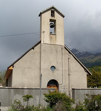 Chabottes - The chapel in Chabottes