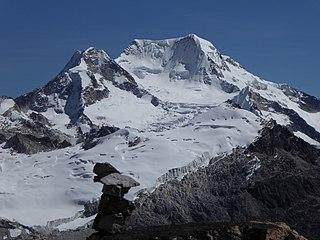 Chachacomani Mountain in Bolivia
