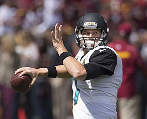 Chad Henne - Henne with the Jacksonville Jaguars in 2014