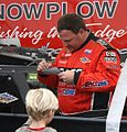 Chad Hord Signing Autographs Before Winning 2011 AMSOIL World Championship.jpg