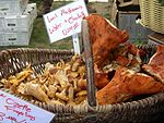 Chanterelle and lobster mushrooms.jpg