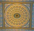 Chapel ceiling rosette, Greenwich Hospital, London.jpg
