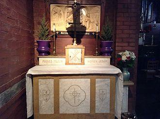 St. Mary's Episcopal Church (Kansas City, Missouri) - Chapel of the Annunciation