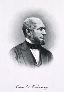 portrait of Charles Pickering