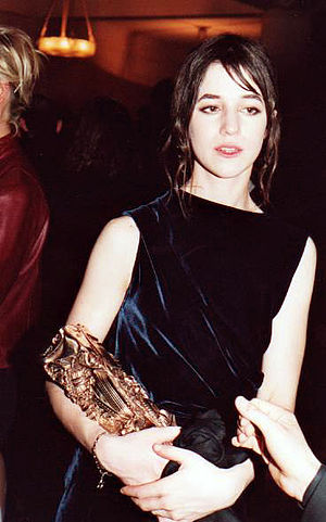 Charlotte Gainsbourg - Gainsbourg at the 25th César Awards in 2000