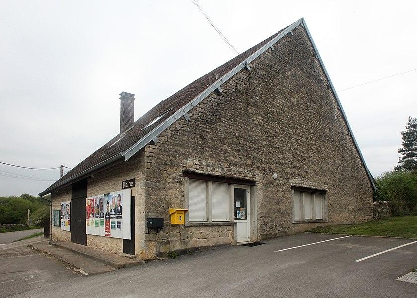 Mairie de Charnay (Doubs).