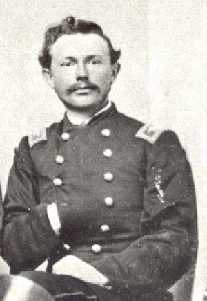 Charles Garrison Harker - Col. Charles G. Harker  ca. 1862