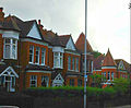 Cheam Road houses Sutton London Surrey.JPG