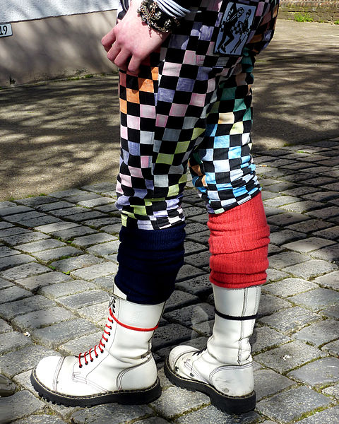 File:Checkered pants - white boots.jpg