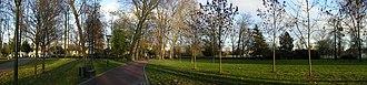 Chelles, Seine-et-Marne - Image: Chelles parc Emile Fouchard pano 1