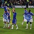 Chelsea 1 lLiverpool 0 (2-1 agg) Capital One Cup semi final 2nd leg On our way to Wembley! (16204538439).jpg