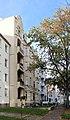 Chemnitz, Häuserzeile in der Walter-Oertel-Straße .JPG