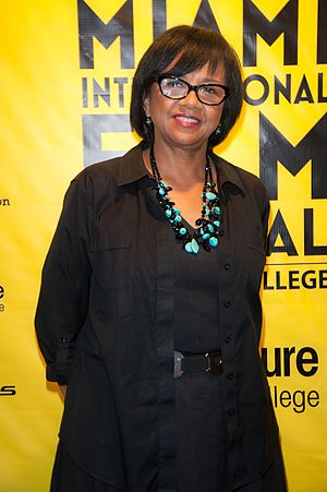 Cheryl Boone Isaacs - Cheryl Boone Isaacs at the Miami Film Festival
