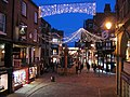 Chester Cross and the Christmas lights - geograph.org.uk - 627978.jpg