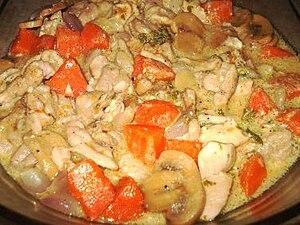 Fricassee - Chicken fricassée