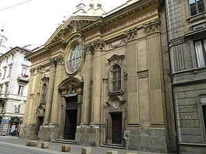 San Francesco d'Assisi, Turin - Facade